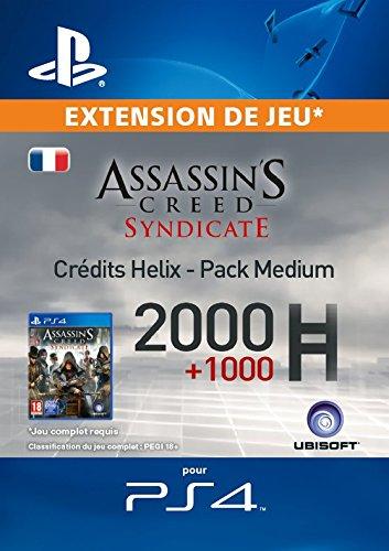 Assassin's Creed Syndicate - Pack Medium Crédits Helix [Code Jeu PSN PS4 - Compte français]