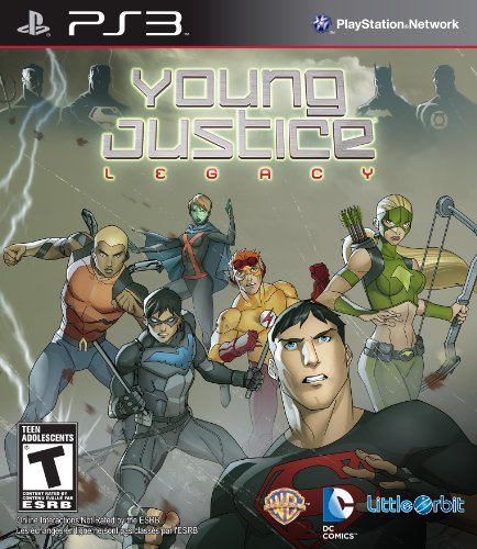 Majesco Young Justice Legacy PS3