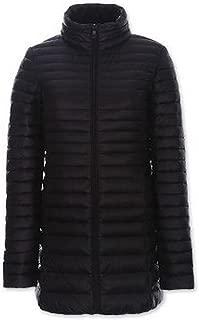 BOZEVON Women Oversize Down Jacket Women Winter Warm Long Sections Down Coat Soft and Light