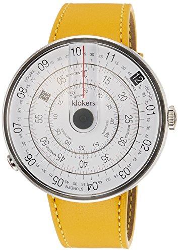klokers (KLOK0) Reloj Casual para Hombre, Transparente