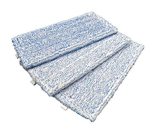 3 Reinigungstücher Ersatz Tücher geeignet für Vorwerk SP600 SP 600 und Saugwischer