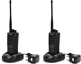 HYS TC-H10W High Power UHF 400-520MHz Two-Way Radio 20 Miles Long Distance Ham Radio Walkie Talkie with 2800mAh Battery Transceiver(2 Pack)