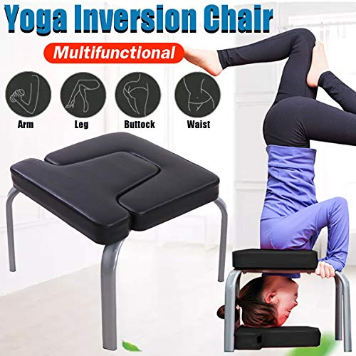 Fantastic Deal! L.J.JZDY Yoga Chair Yoga Aids Workout Chair Headstand Stool Multifunctional Sports E...