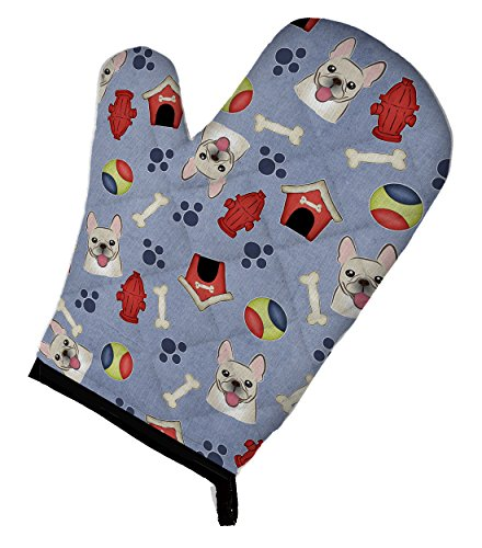 Caroline's Treasures BB4017OVMT Dog House Collection French Bulldog Oven Mitt, Large, multicolor