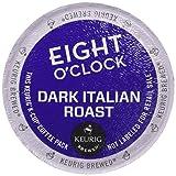 Eight O'Clock Coffee Dark Italian Roast Coffee - 18 ct