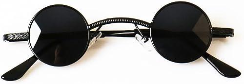 Gl r YLLXX M liche Flutpers ichkeits-Sonnenbrille des PrinzenspiegelWeißese-Runden Rahmen-Sonnenbrille Weißichen Polarisators