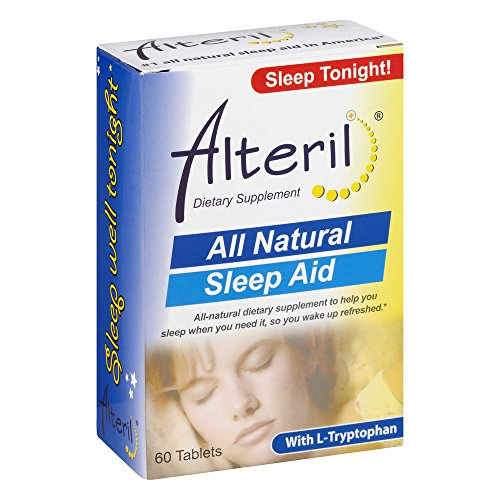Alteril All Natural Sleep Aid with L-Tryptophan, 60 Tablets