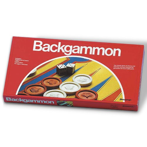 Pressman Folding Board Backgammon