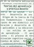 Teorias Del Aprendizaje Y Practica Docente (Wanceulen educaciÑn)