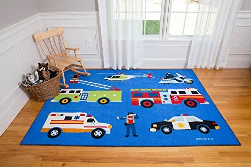 Wildkin Kids Foot Rug for Boys and Girls