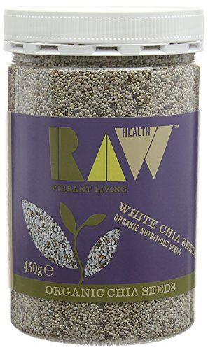 Raw Health Organic White Chia Seeds 450g