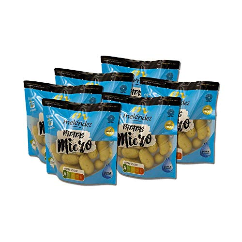 Lote Patatas MICRO, 6 bolsas 400g | Especial Microondas