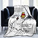 Cozy Luxury Bed Throw Blanket Soft Flannel Blanket Sofa Chair Bed Couch for Adult and Kids