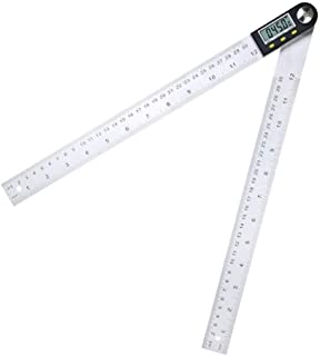 Multifunzionale scala lineare digitale con display remoto display digitale Lettura lineare scala esterna lineare Righello Grande e Chiaro Pi/ù Preciso Size : 150mm