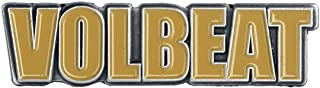 Volbeat Volbeat Logo Pin Mehrfarbig
