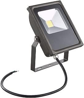 LED Flood Light Bronze 20-Watt 120v-277v 1840 Lumens 4000K 110 Degree Beam Spread
