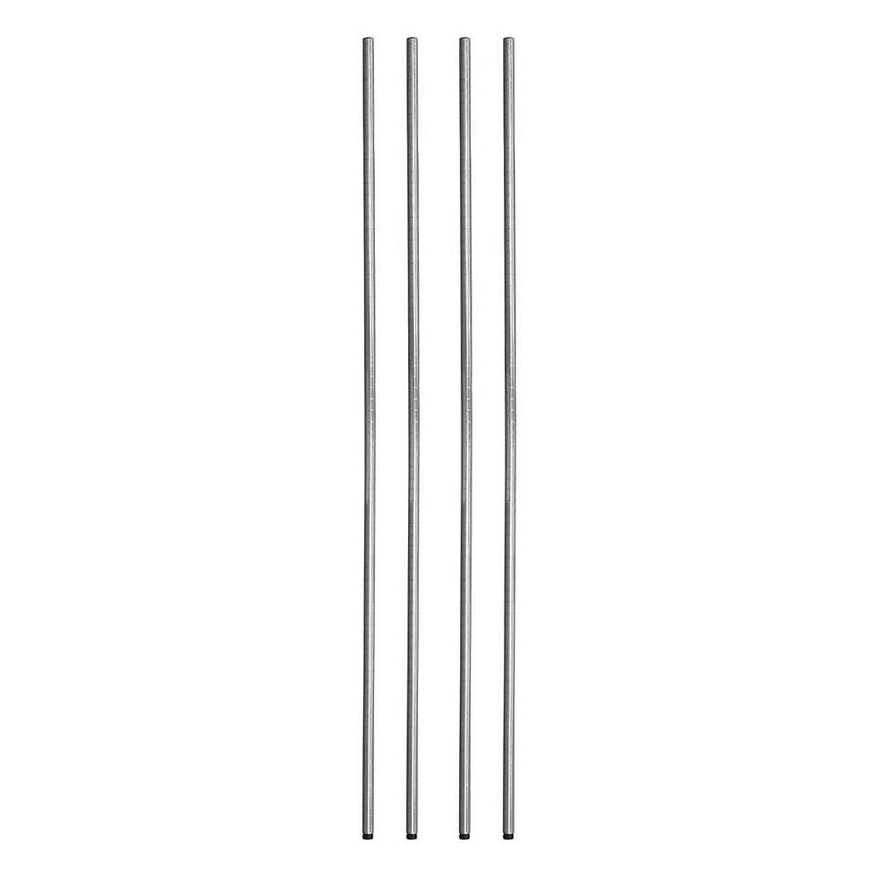 クローン遵守する積分ルミナス ポール径25mm用パーツ ポール(支柱) ポール 180cm(4本セット) 高さ180cm 25P180*4