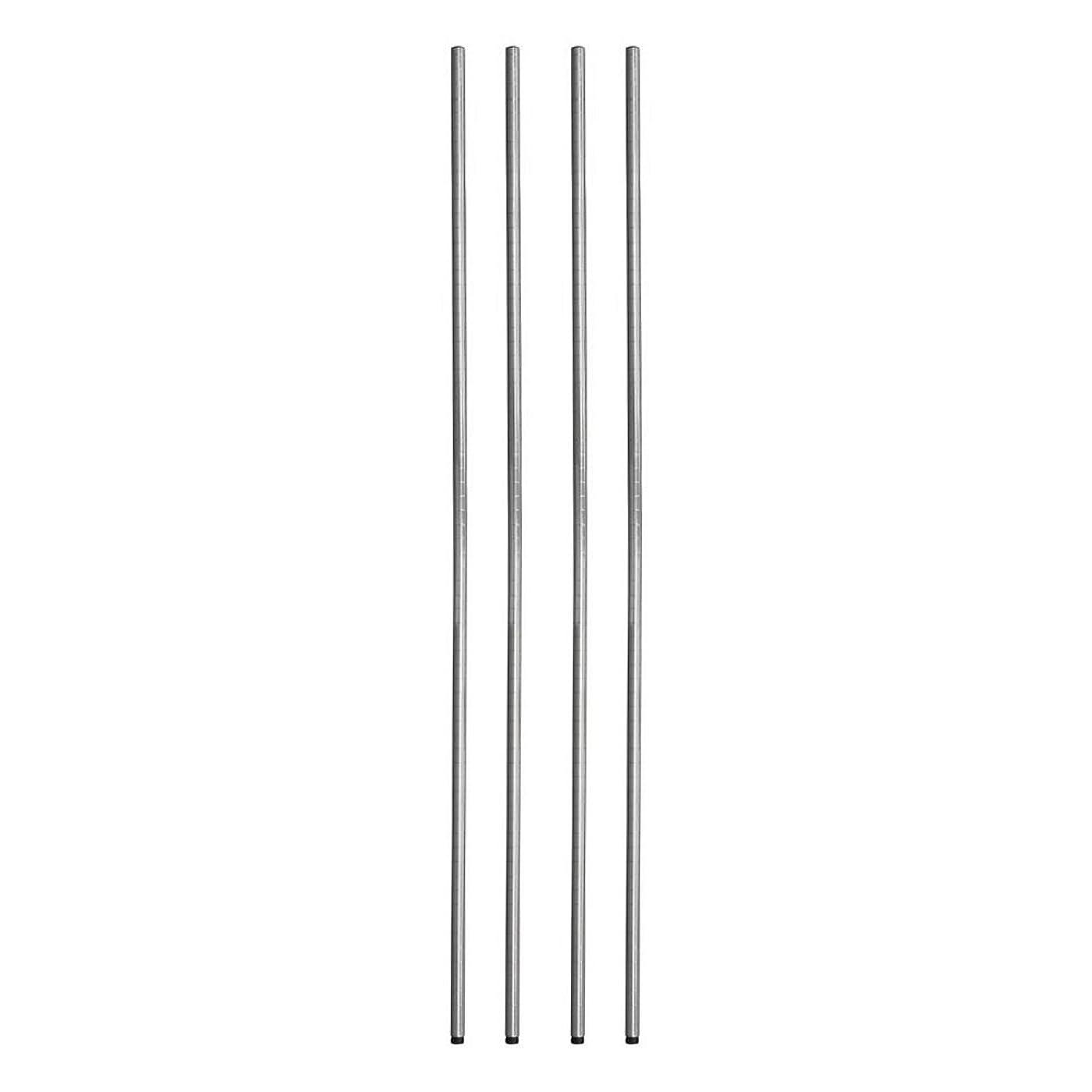 洗剤遺跡協同ルミナス ポール径25mm用パーツ ポール(支柱) ポール 180cm(4本セット) 高さ180cm 25P180*4