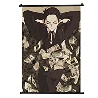 アニメTheMillionaire Detective Balance:Unlimited Kanbe Daisuke Wall Scroll Mural Poster Home Decor 16x24inch / 40x60cm