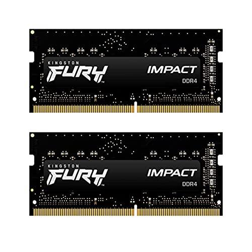 キングストン Kingston FURYノートPC用メモリ DDR4 2933MHz 8GBx2枚 Kingston FURY Impact インパクト CL17 1.2V Unbuffered SODIMM KF429S17IBK2/16