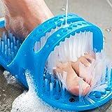 Nettoyant de pied de douche, pantoufles de masseur de brosse de douche de chaussure...