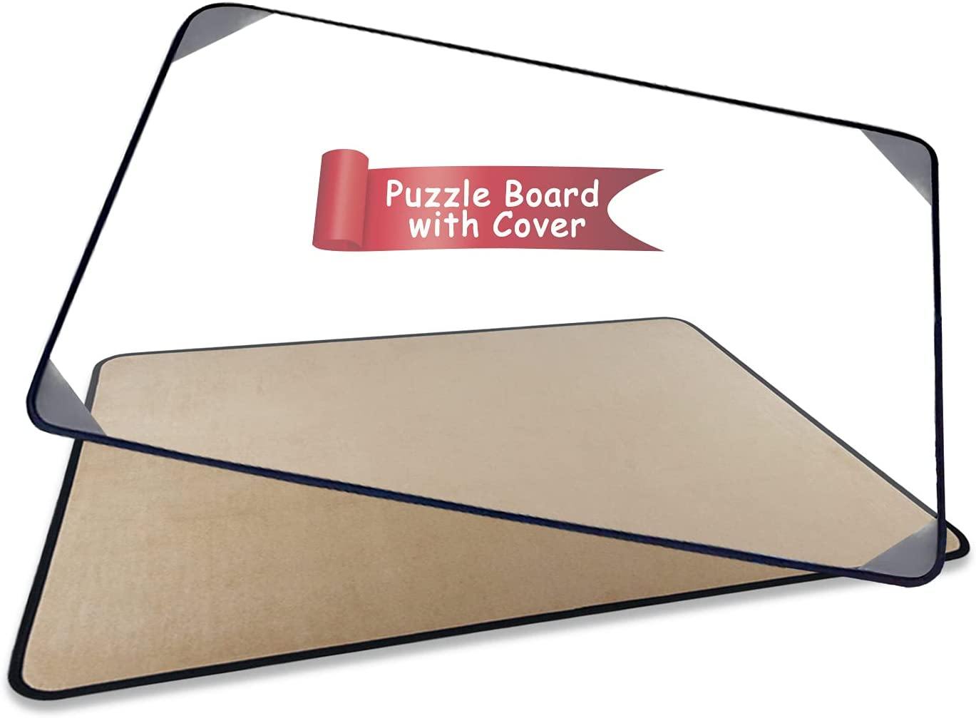 Puzzle Portable Board with Dustproof Cover All items in the store fits 21