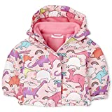 The Children's Place Baby Girls' 3 in 1 Printed Winter Jacket, Tidal, 12-18MOS