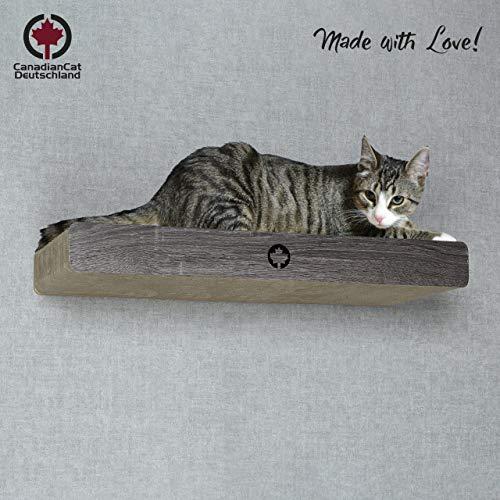 test Canadian Cat® Company |  Ruderbrett mit versteckten Wolken zur Wandmontage  Dunkelgrau |  IN ORDNUNG.  70x… Deutschland