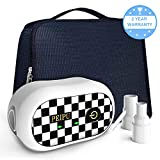 PEIPU CPAP Cleaner and Sanitizer Bundle,Portable CPAP Sanitizer Bundle with Sanitizing Bag for Mask and Heated Hose Adapters(White)