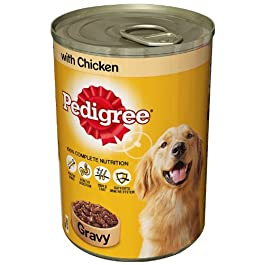 Pedigree Can in Gravy with Chicken 400 g (Pack of 12)