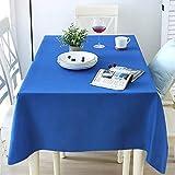 Chengtao Tischdecke Einweg, Tischdecke Plastik - 6er Pack, Garten Tischdecke Rechteckig Tischtuch Tischtuchtischdecke für draussen - 4