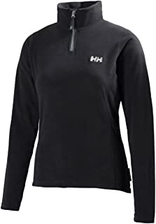 Helly Hansen W Daybreaker 1/2 Zip Fleece, Mujer, Black, M