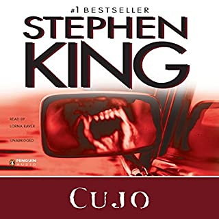 Cujo                   By:                                                                                                                                 Stephen King                               Narrated by:                                                                                                                                 Lorna Raver                      Length: 14 hrs and 8 mins     472 ratings     Overall 4.2