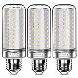 Sauglae Bombillas LED de 26W, Bombillas Incandescentes Equivalente de 200W, Blanco Cálido de 3000K, 2600 lm, Bombillas de Tornillo Edison E27, 3 Piezas