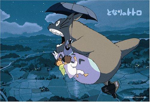 Studio Ghibli Jigsaw Puzzles: My Neighbor Totoro 70-Piece Puzzle - A Walk in the Night Sky (japan import)