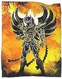 Coobal Soul of the God Phoenix - Manta de felpa (forro polar, 127 x 101 cm)