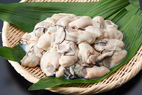 愛名古屋 牡蠣 加熱用 国産 ジャンボ生剥き牡蠣 冷凍 1kg ギフトボックス付き