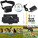 Electric Fence Advanced-Latest All Weather Pet Containment System - Electric Dog Fence and Pet Containment System In-Ground or Above Ground Installation