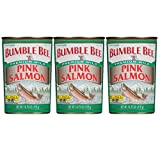 Bumble Bee Salmon Pink Canned, 14.75-Ounce Cans (Pack of 3)