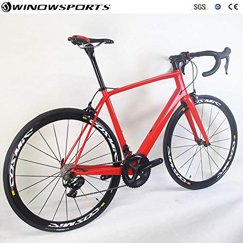 R7000/R8000Groupset22 for Carbon Road Compound Agent Bicycle Speed 49/54/56/58 cm 52/52 Carbon Road Bike with_R8000_Groupset_58CM