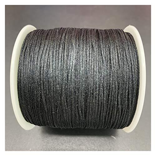 LCHB - Cuerda de hilo de encaje con nudo de nailon de 0,8 mm, se utiliza para hacer joyas de pulsera (color: 12)