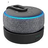 Smart Speaker GGMM Portable Original Base de la batería for Amazon Eco Dot 3ª generación Recargable estación de Acoplamiento for Alexa Altavoz con 8 Horas de Juego sunxueling1 (Color : White)