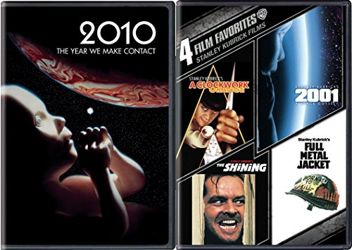 2001 & 2010 Space Odyssey + Stanley Kubrick Collection The Shining / Clockwork Orange / Full Metal Jacket DVD Set
