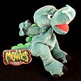 Meanies Boris The MUCOUSAURUS Series 1 Bean Bag Plush Toy from The Idea Factory