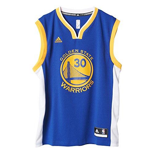 Adidas Int Replica Jrsy #3 Curry - Canotta Basket da Uomo - Multicolore (Multicolore) - XL