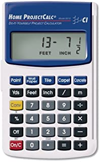 Calculated Industries 8510 Home ProjectCalc Do-It-Yourself Project Calculator (Thrее Расk)