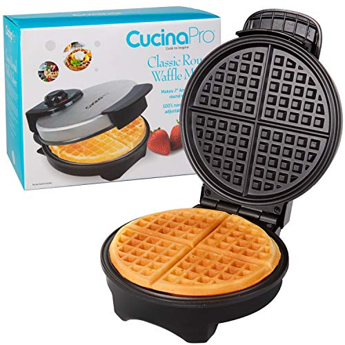 Waffle Maker by Cucina Pro - Non-Stick Waffler...