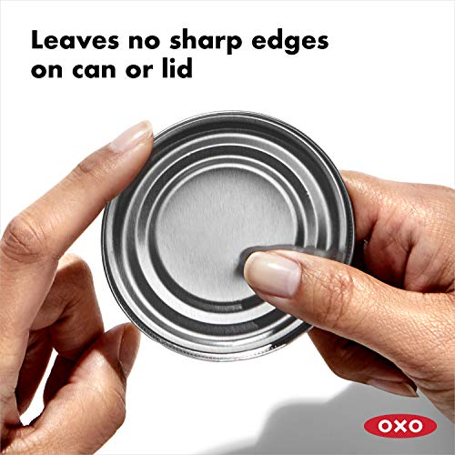 Product Image 6:  OXO 1049953 Can Opener, Stainless Steel Blade, Smooth Edge, Black