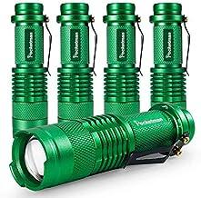 مصابيح كاشفة صغيرة LED مصباح 7 وات 300LM SK-68 3 أوضاع إضاءة قابلة للتعديل بالتركيز قابل للتعديل Q5 LED مصباح تكتيكية للتخ...