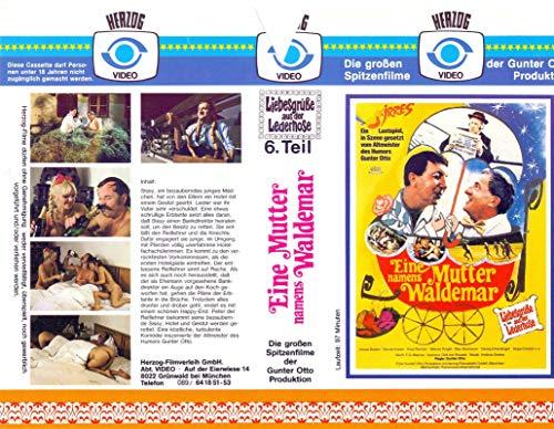 Liebesgrüße aus der Lederhose - 6. Teil - VHS-Einleger A4 - ohne Cassette/Hülle